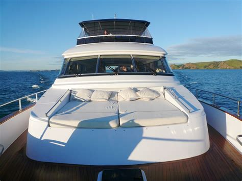 Boat Launch Auckland by Nirvana Charter Boat Auckland 73ft Motor Launch Decked