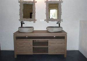 salle de bain avec meuble de cuisine tinapafreezonecom With meuble de cuisine dans salle de bain