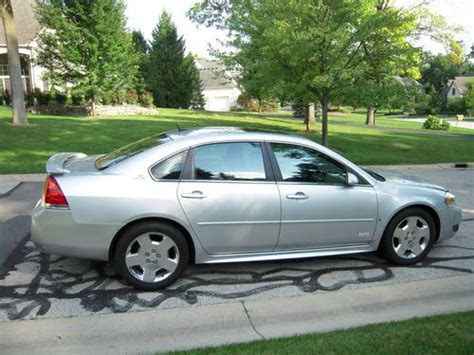 2009 Chevrolet Impala Ss by Buy Used 2009 Chevrolet Impala Ss Loaded Elderly Owned