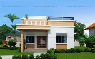 simple one bedroom house plans maryanne one storey with roof deck shd 2015025