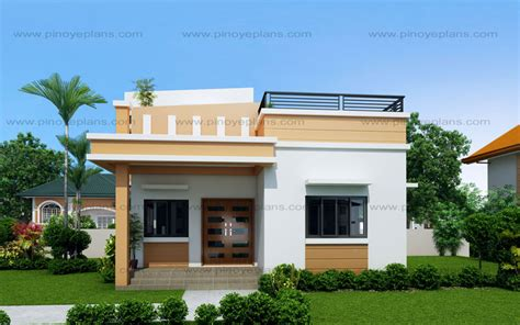 maryanne storey roof deck shd pinoy eplans modern house designs small