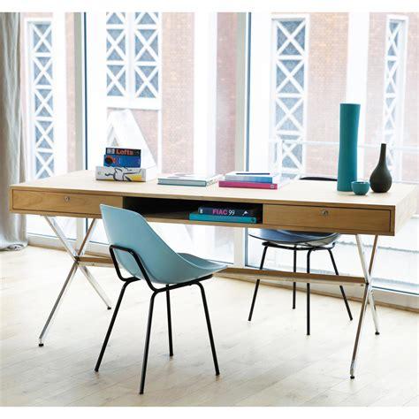 bureaux vintage bureau vintage en teck l 180 cm guariche maisons du monde