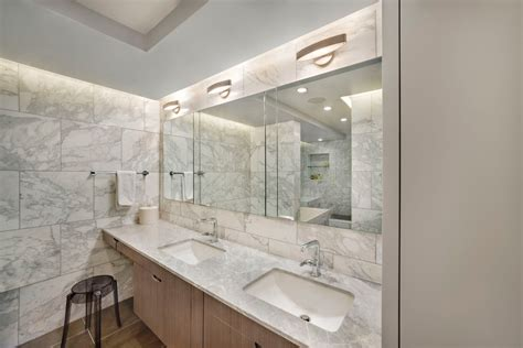 splendid carrara white marble tile  mirror medicine