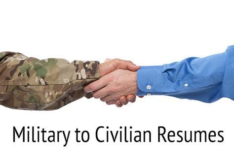 to civilian resumes transition resumes