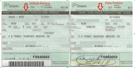 Form 21 For Vehicle Registration by Motor Registration Ontario Impremedia Net