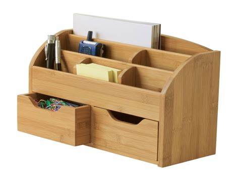 home office desk wooden desk caddy organizer wooden