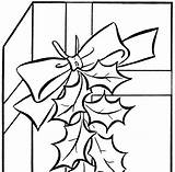 Clip Gift Holiday Grandmother Clipart Coloring Line Cliparts Clipartmag Graphics Projects sketch template