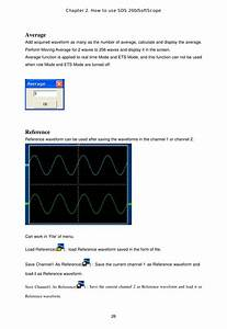 Softdsp Sds200a Pc Based Digital Oscilloscope User Manual