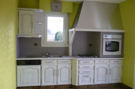 renovation meuble cuisine en chene meubles de cuisine en bois brut a peindre meuble