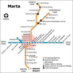 Atlanta Marta Route Map