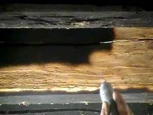 Poutre En Chene : decapage nettoyage par aerogommage de poutres en chene ~ Premium-room.com Idées de Décoration