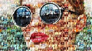 Montage Photo Photoshop : photoshop tutorial how to create stunning photo mosaic portraits youtube ~ Medecine-chirurgie-esthetiques.com Avis de Voitures