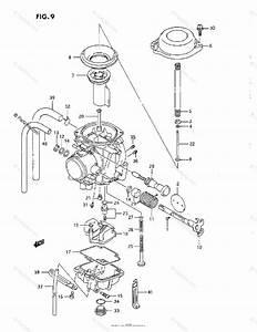 Suzuki Motorcycle 1993 Oem Parts Diagram For Carburetor  L