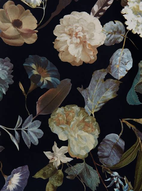 floral print  tumblr