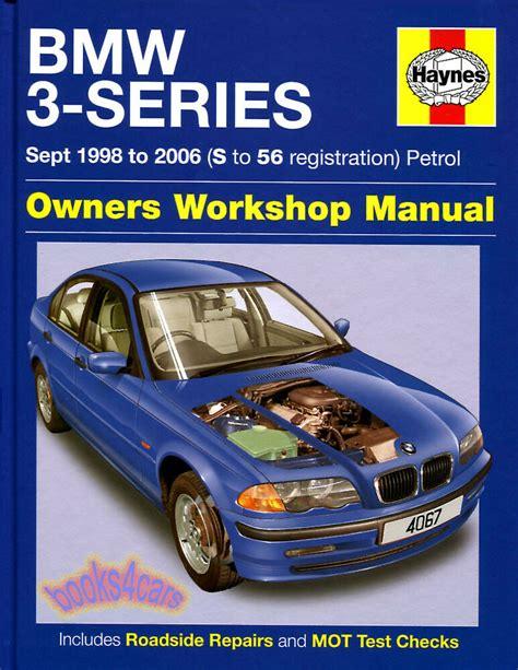 free car repair manuals 2006 mercedes benz e class engine control bmw shop manual service repair book 3 series haynes chilton 1999 2006 ebay