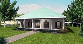 Southern Style House Plan 77407 with 3 Bed 2 Bath 2