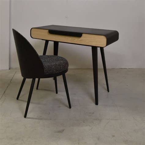 bureau metal bois bureau métal bois design kapriss amobois