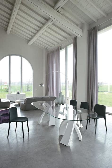 immagini sale da pranzo tavolo ovale design piano in vetro per sale da pranzo