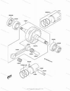 Kawasaki Atv 2004 Oem Parts Diagram For Crankshaft