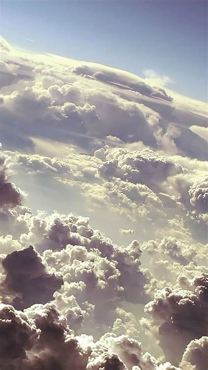 Iphone Clouds Sky Cloud Wallpapers Backgrounds Phone