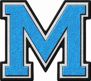 free the letter m download free clip art free clip art With light blue iron on letters