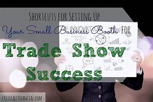 5 Shortcuts For Setting Up Your Small Business Booth For