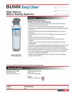 Water Quality System Eqhp-35l Manuals