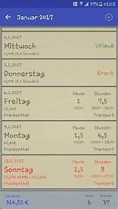 Verdienst Berechnen : stunden rechner android apps on google play ~ Themetempest.com Abrechnung