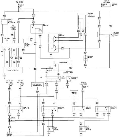 2004 Subaru Legacy Electrical Diagram by Repair Guides Wiring Diagrams Wiring Diagrams