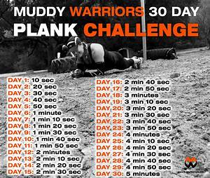 Muddy Warriors 30 Day Plank Challenge Muddy Warriors
