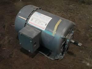 3  4 Hp Century Electric Motor  1725 Rpm