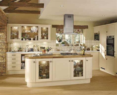 Kitchen Open Shelves Ideas - burford cream kitchen shaker kitchens howdens joinery