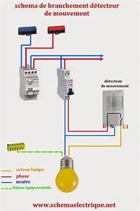 Spot Detecteur De Mouvement : sch ma electrique simple d tecteur de mouvement sch ma ~ Dailycaller-alerts.com Idées de Décoration