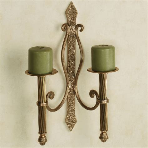 living room great wall sconce candle with kingdom pattern