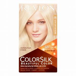 Revlon ColorSilk Hair Color, Ultra Light Ash Blonde | Jet.com