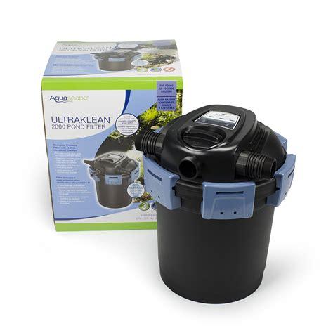 aquascape filter aquascape ultraklean 2000 pond filter water gardens