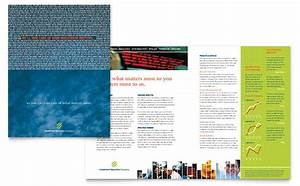 Indesign Brochure Investment Securities Company Brochure Template Design