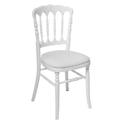 Chaise Napoleon Blanche  Abc Location