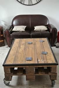 Acheter Palette Bois : acheter table basse palette bois ~ Melissatoandfro.com Idées de Décoration