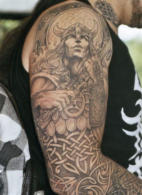 celtic sleeve tattoos  men tattoos pinterest