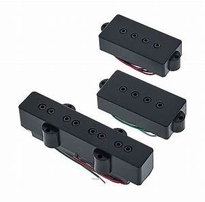 Dimarzio Dp126 P J Neck And Bridge Bass Pickups Set
