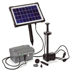 Led Solarpumpe Solar Teichpumpe Akku Gartenteichpumpe