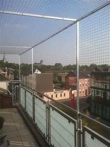 katzennetz fur grossen dachbalkon in monchengladbach With französischer balkon mit katzennetz garten befestigen