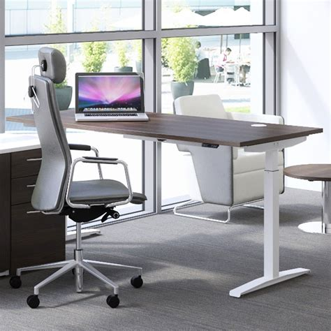 sit stand office desk hirise sit stand desk single standing desk height