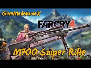 Far Cry 4 - M700 Sniper Rifle - PC Gameplay - YouTube