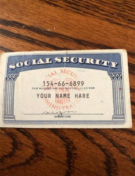 Citizenship and immigration services (uscis) in order to match the record. SSN Editable social security card social security card #Social_security_generator #Social ...