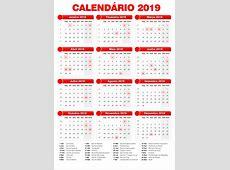 Carnaval 2019 Calendário kalentri 2018
