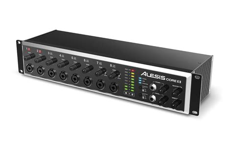 alesis core series 24 bit usb audio interfaces announced