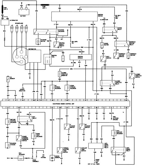 Cj5 Turn Signal Wiring Schematic by Jeep Cj 7 Alternator Wiring Diagram Wiring