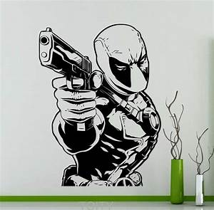 Aliexpress com : Buy Deadpool Vinyl Decal Comics Super